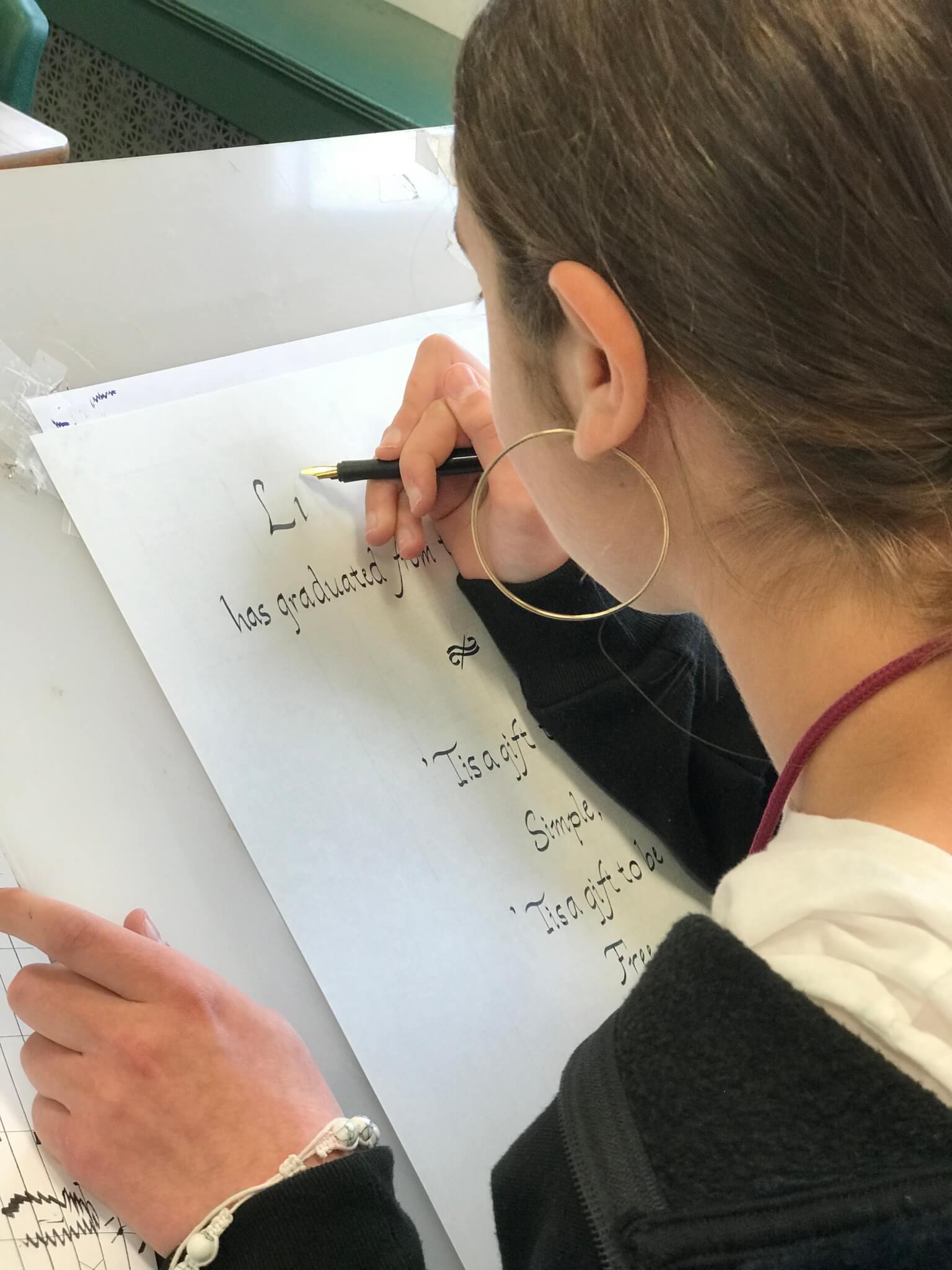 Diploma Calligraphy